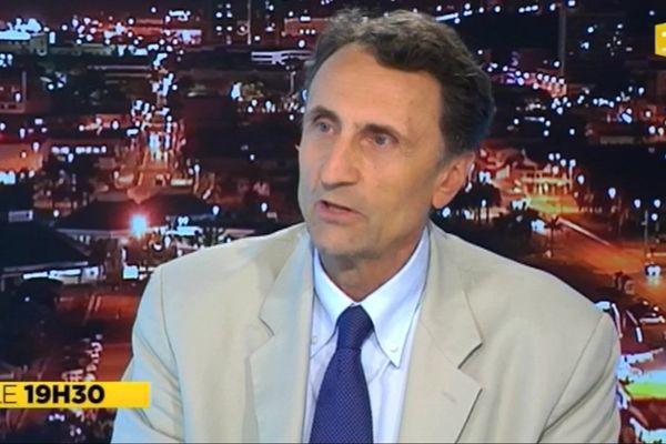 Intervention télévisée du Haut-Commissaire Vincent Bouvier au Journal du vendredi 22 août 2014