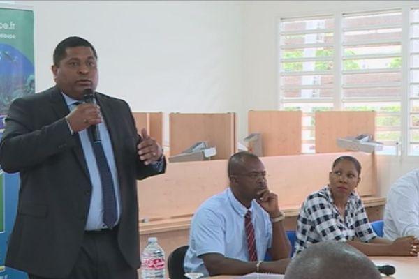 Camille Galap Directeur Général de Guadeloupe Formation