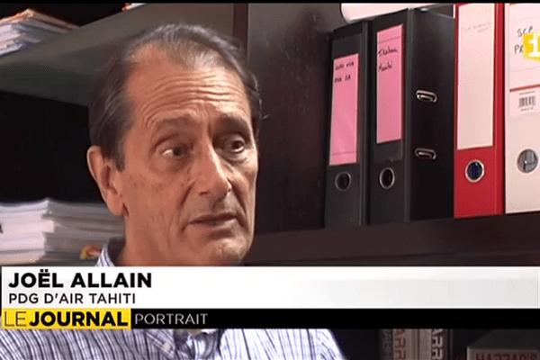 Portrait de Joël Allain, le nouveau PDG d'Air Tahiti