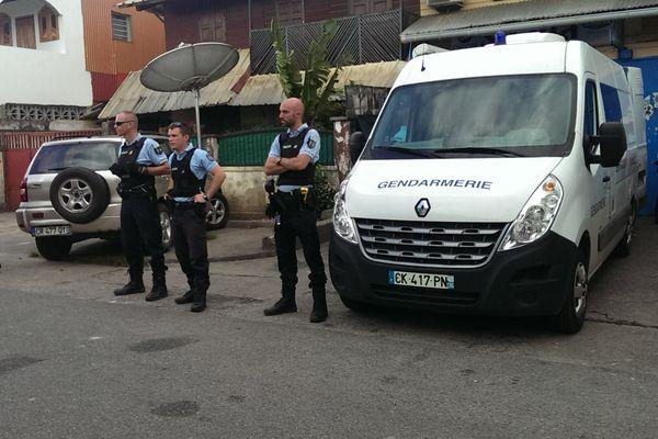 Gendarmes à Balata