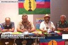 Les membres du FLNKS du Congrès demandent l'organisation du troisième et dernier référendum sur l'indépendance