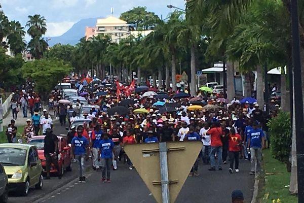 Forte mobilisation populaire pour le CHU de la Guadeloupe