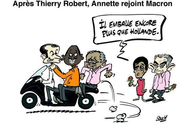 Souch 15022017 : T.Robert - G.Annette - E.Macron