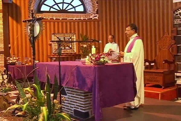 Messe avant démission du Pape