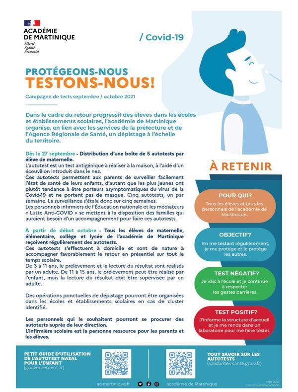 Campagne / autotests / académie