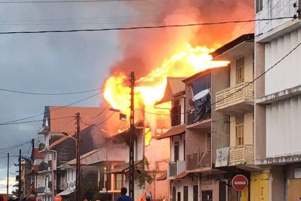 Incendie du foyer la Providence