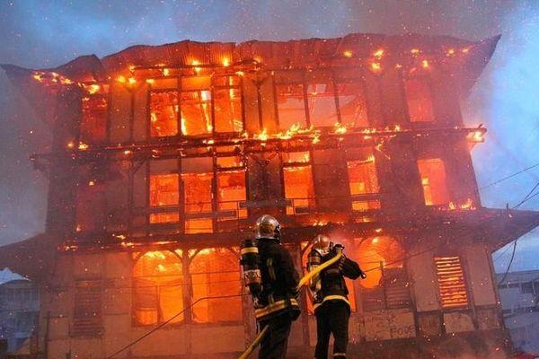 Incendie du Foyer de la providence