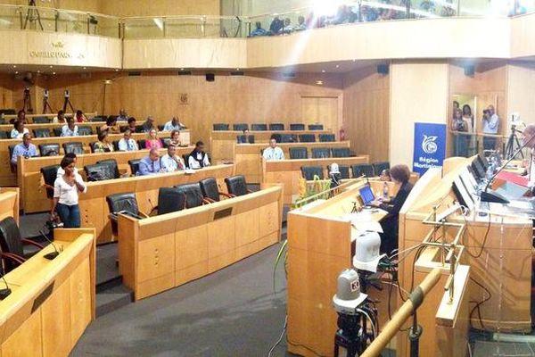 Dernier plénière du conseil régional