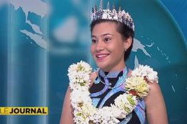 Violene Blondel se prépare pour Miss South Pacific