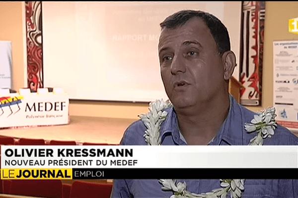 Olivier Kressmann à la tête du MEDEF polynésien
