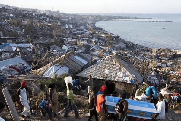 Haiti, pays vulnerable au changement climatique