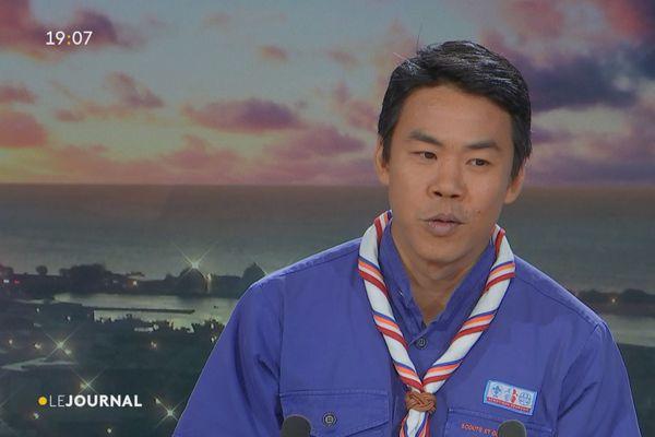 """""""Invité du Journal : Christophe Chant, Président de l'association des Scouts de France."""