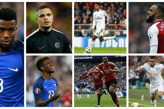 Collage joueurs outre mer Coupe du monde 2018 liste des 23