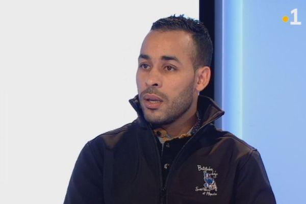 Karim Ali Belarbi, le nouvel entraîneur de judo à Saint-Pierre