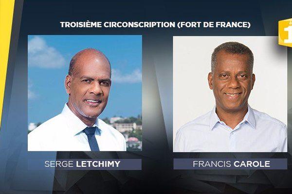 candidats à Fort-de-France