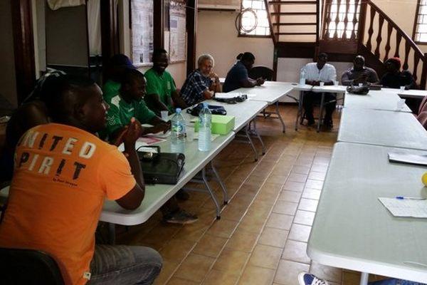 Négociations mairie Apatou