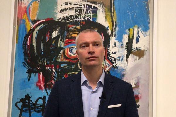 Dieter Buchhart, commissaire de la rétrospective Basquiat
