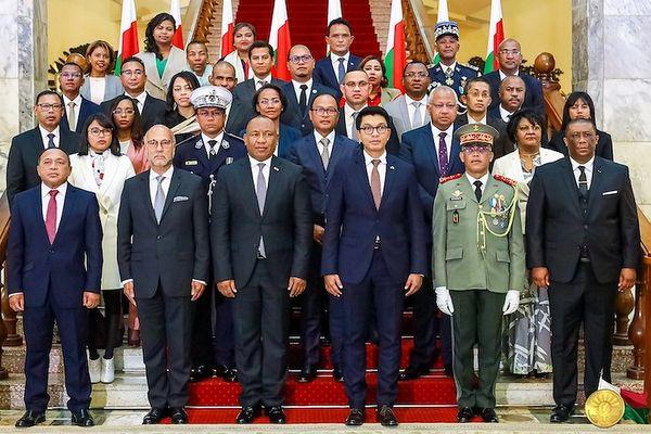 Nouveau gouvernement malgache nommé par Christian Ntsay, Premier ministre