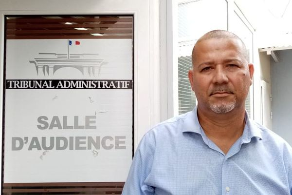 Jean-Claude Pioche, maire de la Désirade