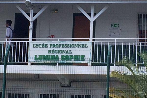 lycée professionnel régional Lumina Sophie