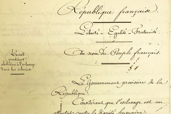 decret 27 avril 1848