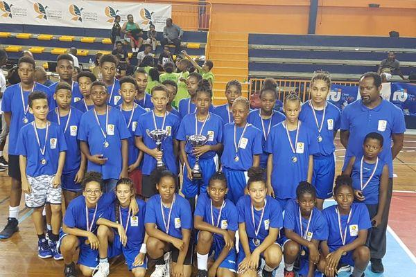 basket U13 Martinique