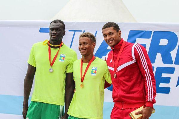 Steven Aimable aux Jeux d'Afrique