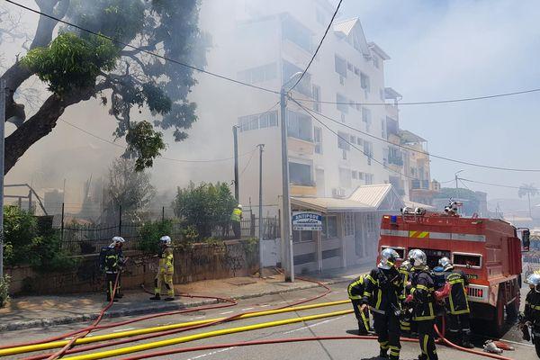 Incendie Quartier Latin