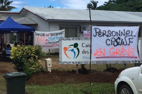 grève à la CPSWF