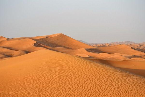 Dubaï désert
