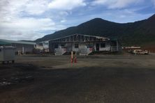 Bâtiment incendié en ce début d'année 2021 sur le complexe de Vale NC.