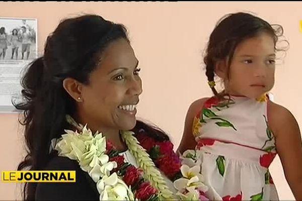 "Christine Kelly, ambassadrice de la fondation ""cas d'urgence"" est en Polynésie"