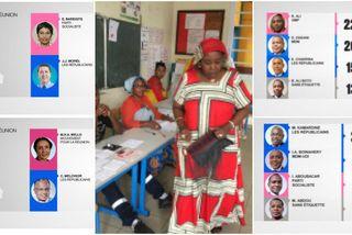 Résultats à Mayotte et à La Réunion