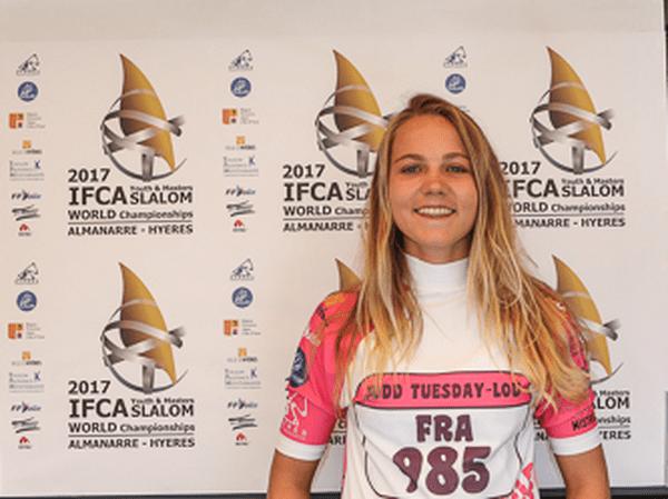 Tuesday-Lou Judd 3e des championnats du mondes jeunes