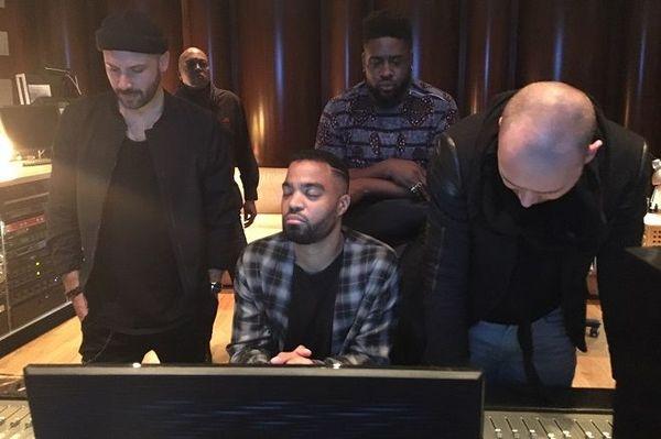 Ludovic Louis et ses amis musiciens - studio Soult à Maisons-Alfort