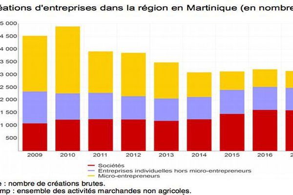 micro-entreprises Martinique 2017