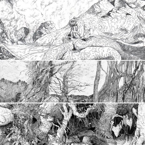 La Calédonienne fait vivre les paysages d'Océanie à travers ses gravures