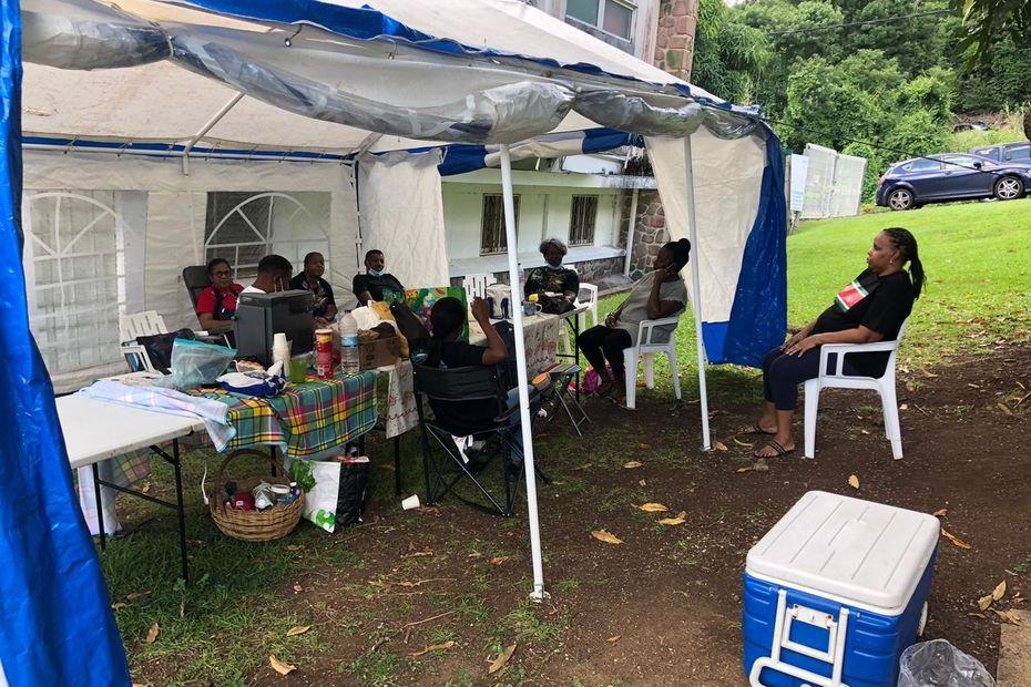 Grève à l'hôpital Beauperthuy : pas d'avancée dans le conflit opposant direction et UTS-UGTG - Guadeloupe la 1ère