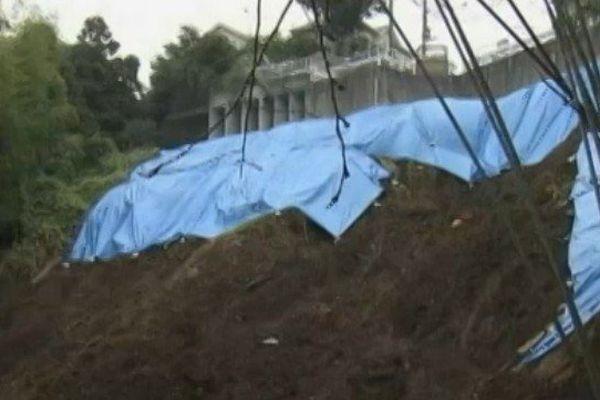 Vongfong, le 19e typhon de la saison, balaie le Japon