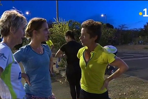 Les femmes dans la course