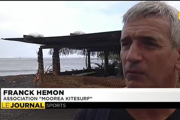Pétition des Kite Surfeurs à Teahupoo