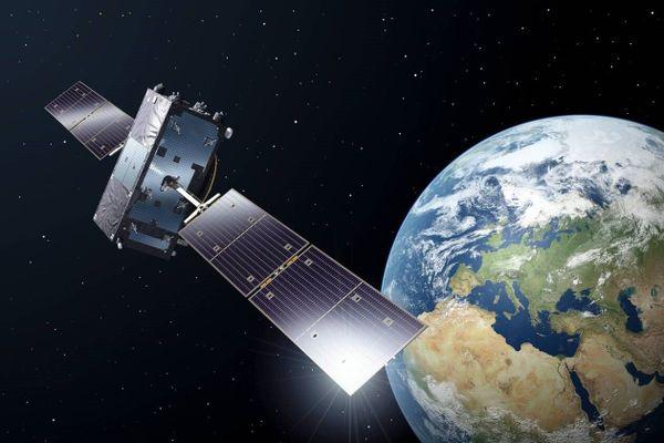 Une vue d'artiste du satellite Galileo