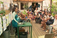 Conférence durant la Journée de la non-violence éducative.