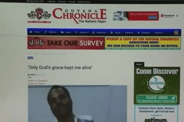 The chronicle du Guyana