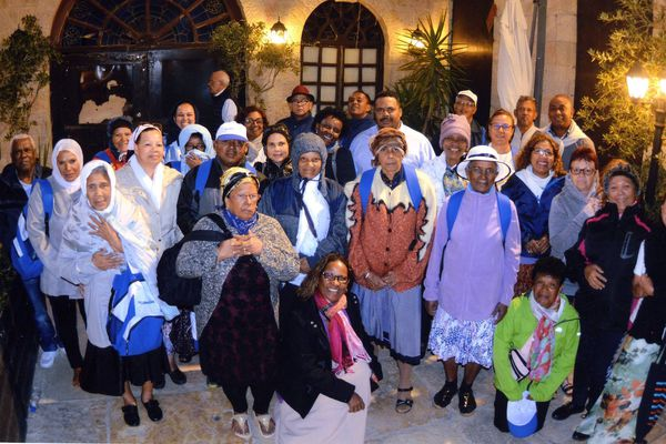 Pèlerinage de Réunionnais en Terre sainte