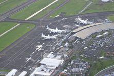 L'aéroport Aimé Césaire au Lamentin