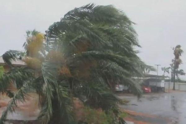 Dégats Cyclone Christine Australie