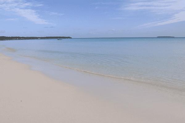 La plage de Mouli