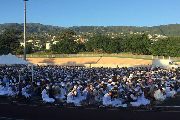 Fin Ramadan Aid el Fitr velodrome champ fleuri 16 06 18
