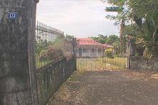 La maison d'Aimé Césaire au quartier Redoute à Fort-de-France